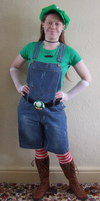 Luigi Cosplay by Aneath