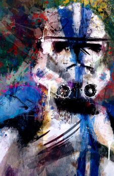 501 st Clone Trooper by j2Artist