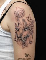 cat by tattoozone
