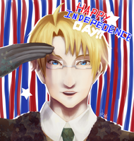 Happy Independence Day!! America!! by Kalafin99