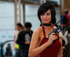 Ada wong cosplay ! by ZombieQueenAlly