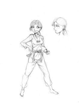 Do - Protagonist Character Design by Luna-Kaneshiro