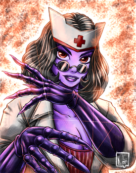 Doctor Cheli is Ready for you. by SHADOBOXXER