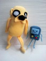 Jake and Beemo by Jonisey