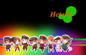 Hetalia Wallpaper by StarRa3