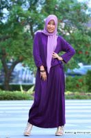 girl with purple hijab by hdnyz97