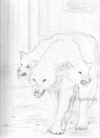 Cerberus by Scooterly