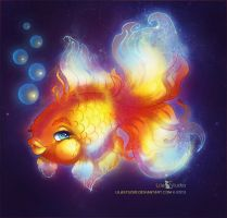 Goldfish by LilaCattis