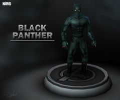 Marvel - Black Panther by davislim