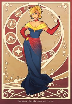 Marvelous Captain Marvel by HanieMohd