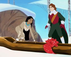 My New Canoe! by WDisneyRP-Pocahontas