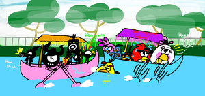 Were gonna HIT!!!!!!!1 by AngryBirdsStuff