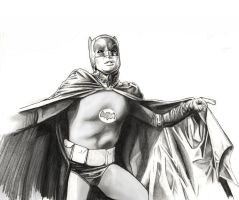 Batman Adam West by LeonardoEnrique