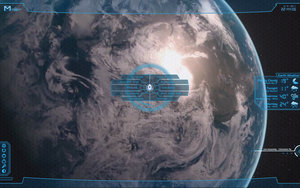 Mass Effect Rainmeter Skin - Blue by Zeek-Aran