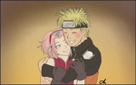 My Sun [Narusaku arttrade with armadas-sketches] by Elbytron