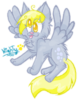 Derpy Hooves? by SnownightTheCat