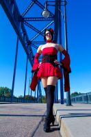 Catgirl Red Dress VII by leashed-freak