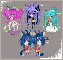 [CLOSED] ADOPT 1- MULTIPLE ADOPT by TentacleF00