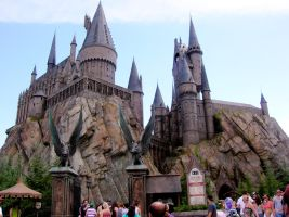 STOCK Hogwarts Castle -- 2 by EscapeFromWonderland