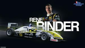 Rene Binder (Van Amersfoort Racing) Wallpaper by brandonseaber