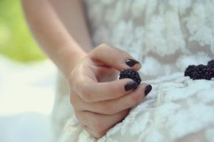 blackberries and lace by maileroseland