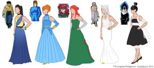 YYH: ballgown inspiration by Houkakyou