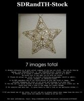 Ornament Star 01 Pack by SDRandTH-Stock