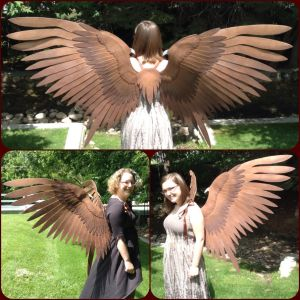 Maleficent Cosplay Wings by ThePinkPoudo