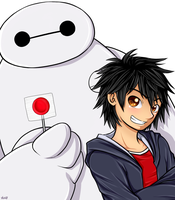 Big Hero 6 by shiniXIII