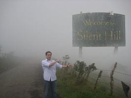 Me in Silent Hill by Skatox