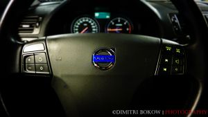 steering wheel Volvo C30 by DimitriBokowPhoto