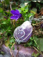 Amethyst Heart by Chrissijulius