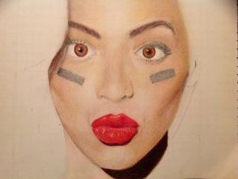 Unfinished Beyonce by AlexiaHC
