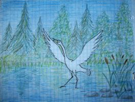 White Bird by DeingeL