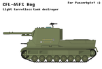 CFL-65FS Hog Light Turretless Tank Destroyer by MultyInterest