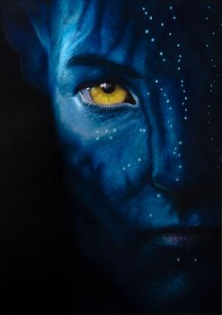 Avatar - With Glow in the Dark by Graphxstudio