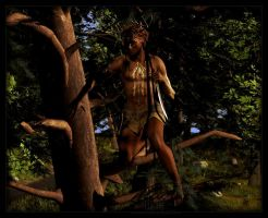 Tauronfuin Forestshadow :: Wild Elf by DrowElfMorwen