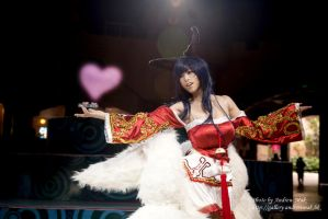 Cosplay - League of Legends - Ahri by PipiChu0226