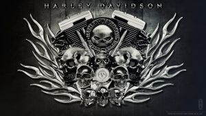 HARLEY DAVIDSON Wallpaper HD by kimoz