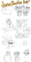 June Doodles 2016 by TopperHay