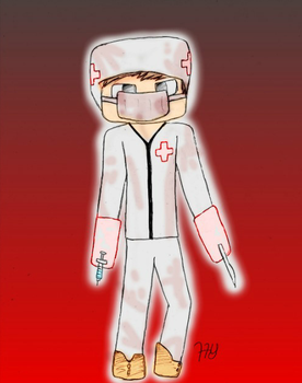 Request #1 Minecraft Skinz: Doctor by iMacAttacki
