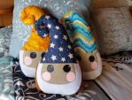 Gnomey Pillow by Caitiekabob