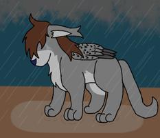 Stand in the Rain -VENT- by IceHeartTheWarrior