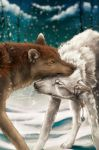 YCH .:First Snow:. by WhiteSpiritWolf