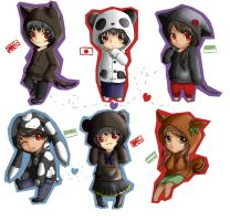 [APH] Love animals - (JapanXAndalucia) by ArantxaCosplayer