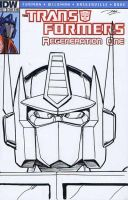 Transformers Regeneration #81 sketch cover by Dan-the-artguy