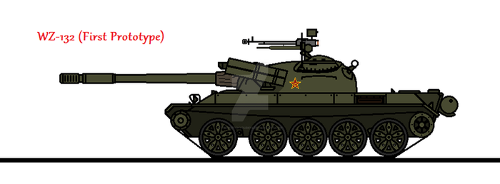 WZ-132 (First Prototype) by thesketchydude13