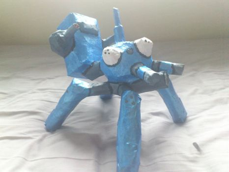 paper mache tachikoma by My-Freedom-In-Art