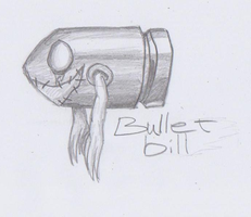 Mario Creepy Enemies #11: Bullet Bill by nick3529