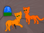 Firestar, Sandstorm and their kits by Mousestar99